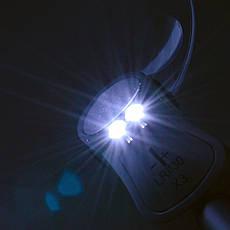 Лупа настольная на прищепке с подсветкой MAGNIFIER 4B-4A 107 мм, 2.5x, фото 3