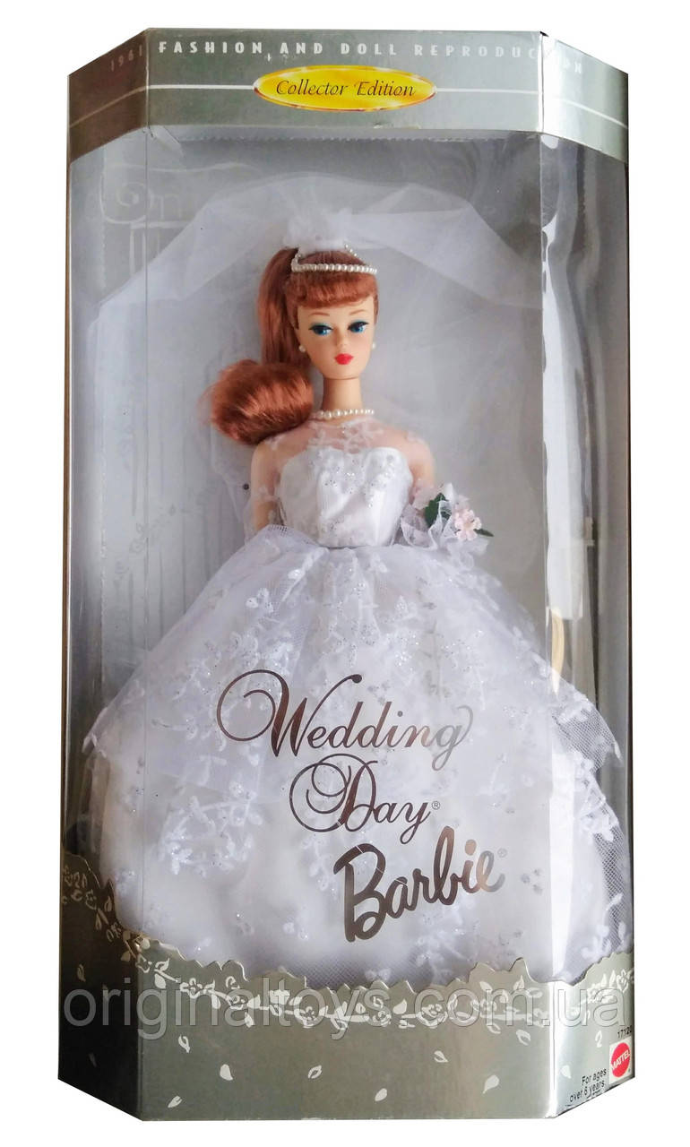 Колекційна лялька Барбі День весілля Barbie Wedding Day 1996 Mattel 17120