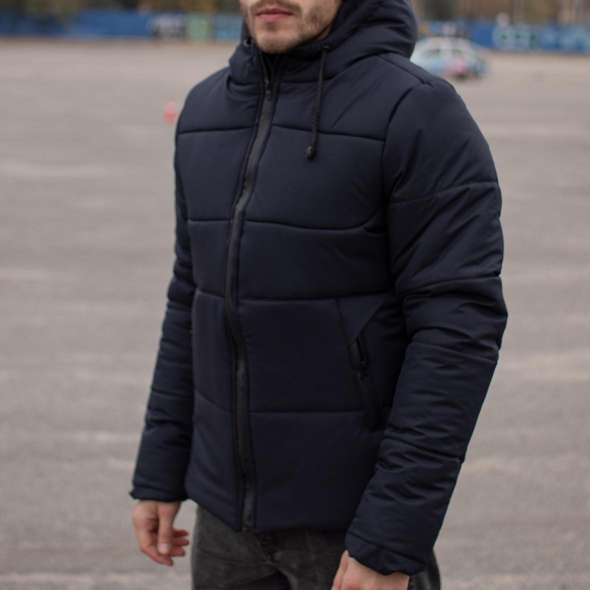 Мужская зимняя куртка Glacier темно-синяя