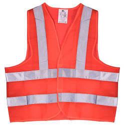 Жилет безопасности светоотражающий (orange) 116B XL