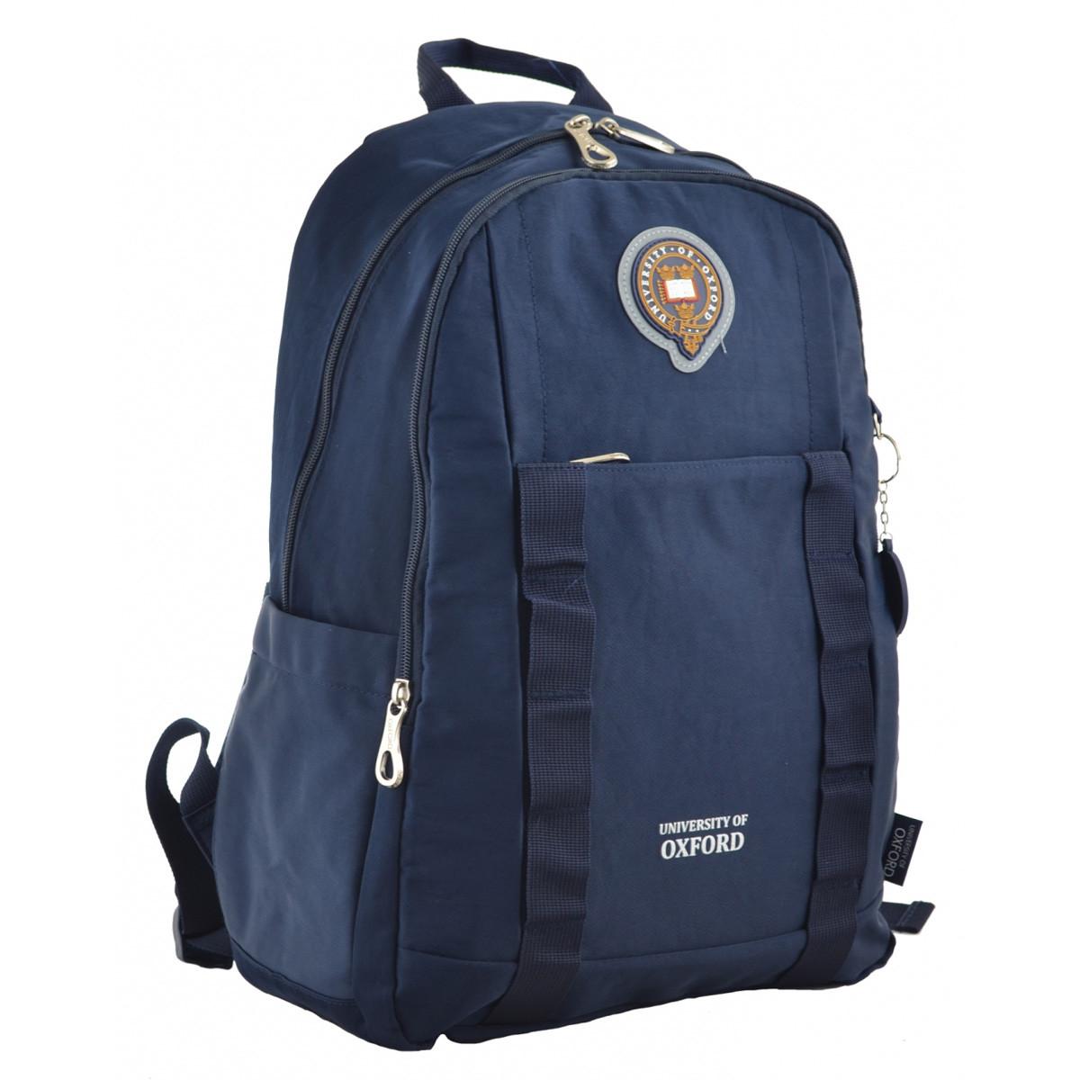 Рюкзак молодежный YES OX 348, 45*30*14, синий код: 555600