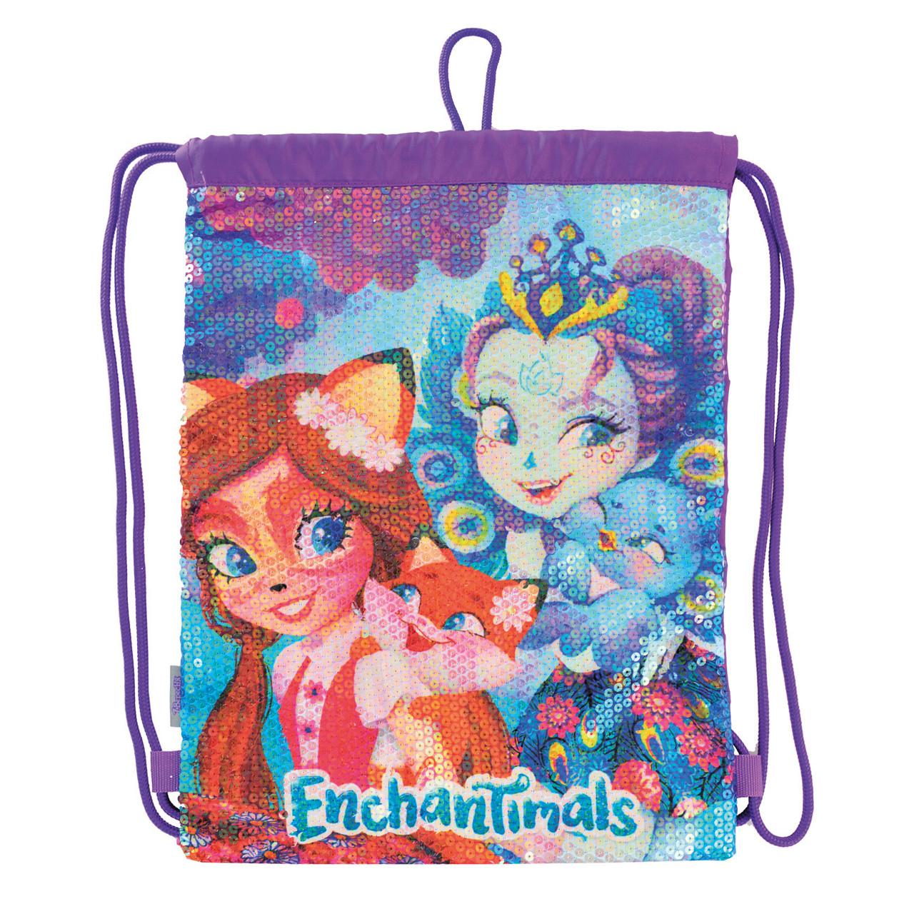 Сумка-мешок YES детская DB-11 Enchantimals код: 556559