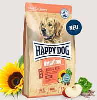 Сухой корм Happy Dog Natur Croq Lachs & Reis 12 кг Хеппи Дог Натур Крок для собак с лососем и рисом