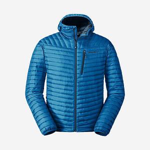 Куртка Eddie Bauer Men's MicroTherm StormDown Hooded Jacket M