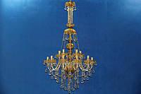 Люстра свеча L19597/105 G (gold)
