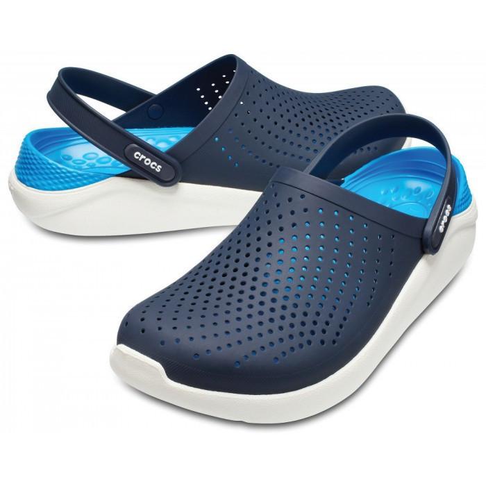 Кроксы Crocs LiteRide™ Clog темно-синие 45 разм.