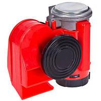 Сигнал воздушный Еlephant CA-10355, Compact, 12V, красный, color box