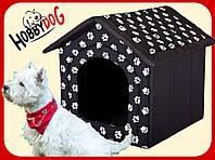 Лежак,домик для кошки или собаки 38х38х32см.HobbyDog 2 в 1