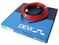Теплый пол Deviflex 18T двужильный кабель с сплошным экраном, 130W (140F1235)
