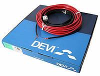 Теплый пол Deviflex 18T двужильный кабель с сплошным экраном, 1005W, 5.4 м.кв.(140F1410)