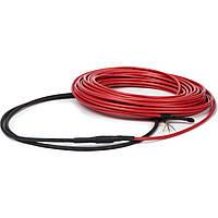 Теплый пол DeviComfort 10T двужильный, тонкий кабель с сплошным экраном, 1400W, 8.7 м.кв.(87101122), фото 1