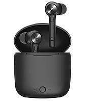 Беспроводные Bluetooth наушники Bluedio Hi с портативным зарядным кейсом (Черный)
