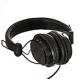 Дротові навушники з мікрофоном Sonic Sound E288 Чорно-білі, фото 2