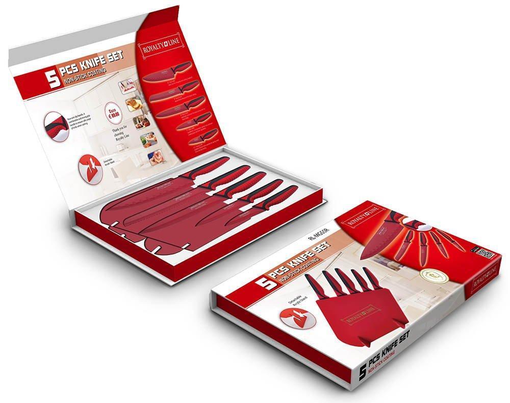 Набор ножей Royalty Line RL-MGSR