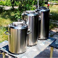Мини автоклав для домашнего консервирования Люкс-14, стенки – нержавейка 2 мм, вмещает 14 банок