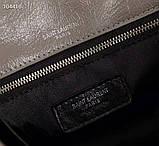 Сумка Ів Сен Лоран 22 і 29 см натуральна шкіра, фото 7