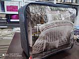 Бавовняне покривало стеганное c наволочками 240*260 ТМ ALCEYIZ CHESTER Капучіно, фото 4
