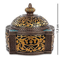 Шкатулка декоративная Veronese с орнаментом Арабеска WS-529