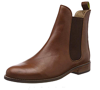Ботинки челси женские кожаные Joules, коричневые. Оригинал. Размер 36