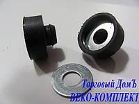 Амортизатор резиновый со стальной шайбой