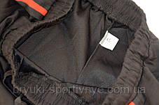 Брюки спортивные мужские под манжет с лампасой XL - 5XL Штаны в рубчик Ao longcom, фото 3