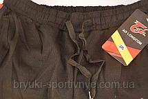 Брюки спортивные мужские под манжет с лампасой XL - 5XL Штаны в рубчик Ao longcom, фото 2