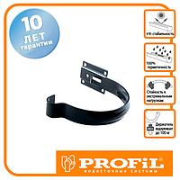 Держак ринви Profil метал. малий 90 графітовий