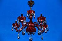 Люстра свеча L77114/5 (RED)