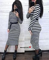 Платье-гольф женское, стильное,  1113М-450