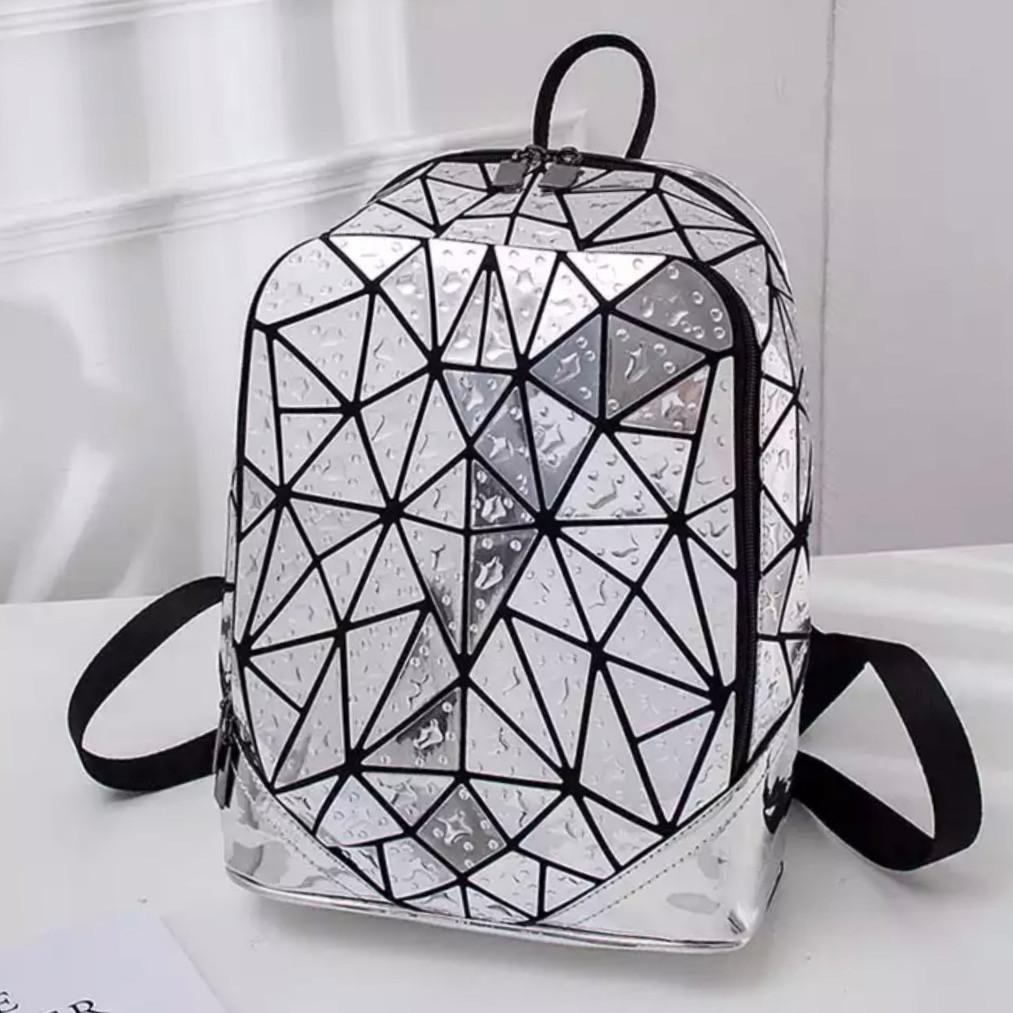 Женский рюкзак – Бао Бао блестящая Амина, Bao Bao Issey Miyake