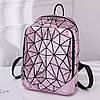 Яркий блестящий женский рюкзак 20 л геометрический с каплями воды – Бао Бао Амина, Bao Bao Issey Miyake 3054, фото 2