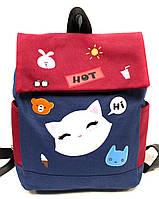 """Рюкзак детский яркий с принтом , размер 28*35*13 см (2 цв) """"RANCH"""" купить недорого от прямого поставщика"""