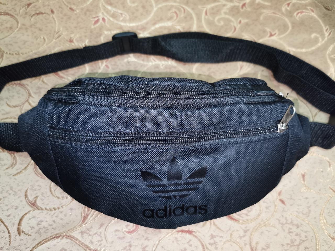 (13*30Cпортивные сумка на пояс adidas барсетки сумка женский и мужские пояс Бананка опт