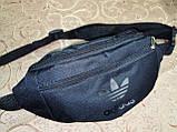 (13*30Cпортивные сумка на пояс adidas барсетки сумка женский и мужские пояс Бананка опт, фото 2