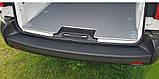 Пластиковая защитная накладка на задний бампер для Citroen Jumpy III / Spacetourer (с 2 задними дверьми) 2016+, фото 9