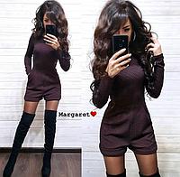 Комбинезон женский, стильный, шортами 1113М-135