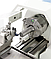 PROFI 550LZ комбинированный токарный настольный станок по металлу, токарно фрезерный станок Bernardo, фото 5