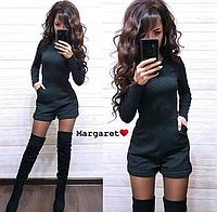 Комбинезон женский, стильный, шортами 1113М-136