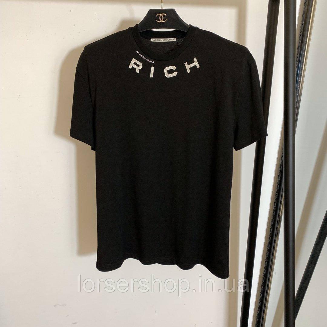 Купить Футболка женская Alessandra Rich хлопок