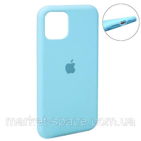 """Чехол силиконовый для iPhone 11. Apple Silicone Case, цвет """"Spearmint (21)"""" (с закрытым низом), фото 2"""