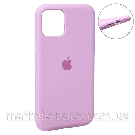 """Чехол силиконовый для iPhone 11. Apple Silicone Case, цвет """"Pink (6)"""" (с закрытым низом), фото 2"""