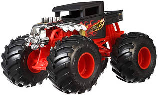 Джип внедорожник Машина Хот Вилс Монстер Трак Бон шейкер Hot Wheels Bone Shaker Monster Trucks 1: 24 машинка