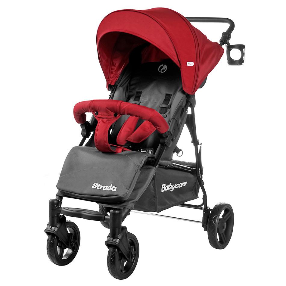 Коляска прогулочная Strada, «Babycare» (CRL-7305), цвет Apple Red (красный)