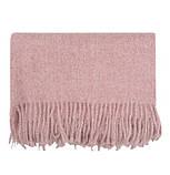 Теплый шарф с бахромой 190х70 см цвет белый, фото 2