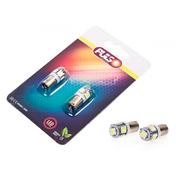 Лампы PULSO, габаритные, LED, T8.5/5SMD-5050, 12V, 1W, White (LP-90155)