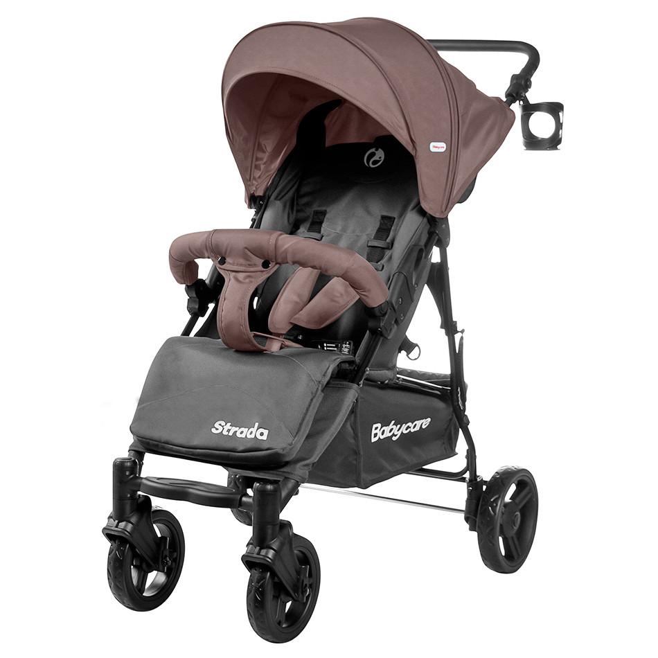 Коляска прогулочная Strada, «Babycare» (CRL-7305), цвет Latte Beige (бежевый)