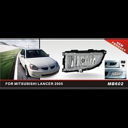 Фары дополнительные модель Mitsubishi Lancer 2005-07, MB-602W, эл.проводка