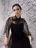 Нарядное женское платье из сетки, фото 2
