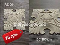 Деревянная розетка RZ-004