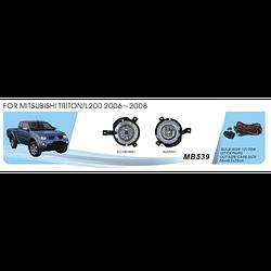 Фары дополнительные модель Mitsubishi Triton L200 2006-2008, эл.проводка